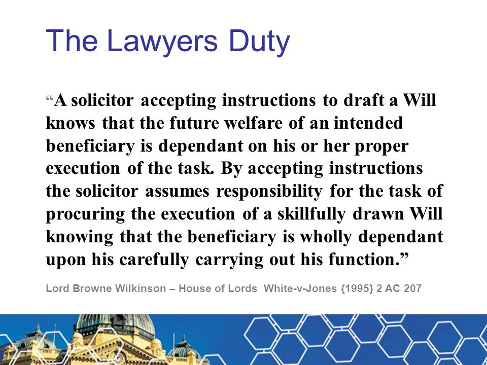 Michael Fitzpatrick The Lawyers Duty.