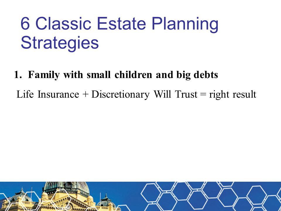 6 Classic Estate Planning Strategies