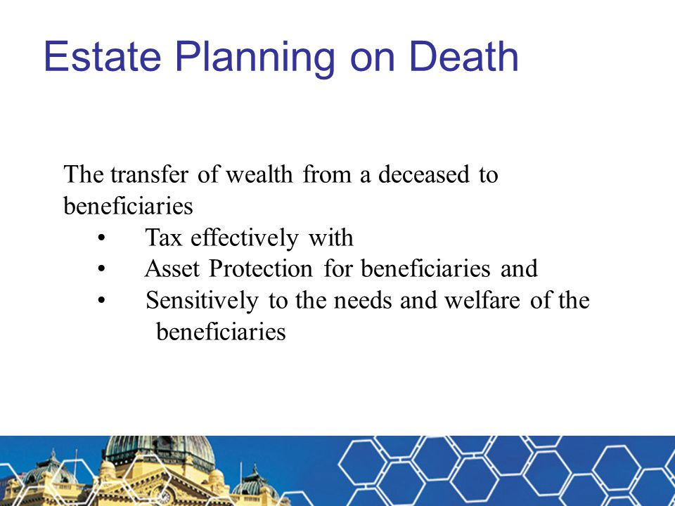 Estate Planning on Death