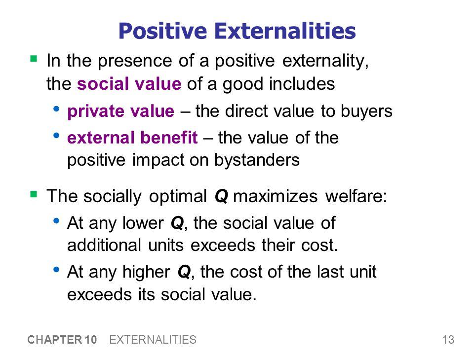 A C T I V E L E A R N I N G 1: Analysis of a positive externality