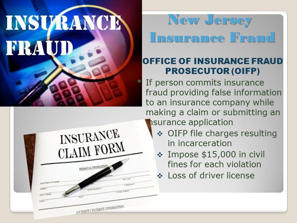 New Jersey Insurance Fraud