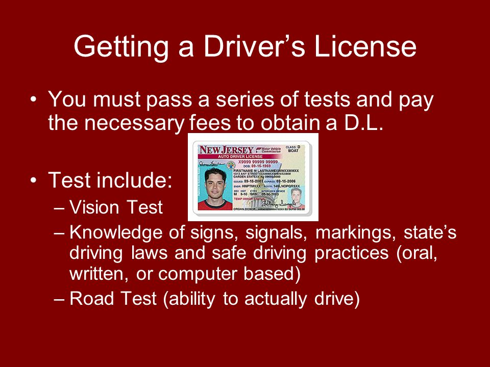 Getting a Driver's License