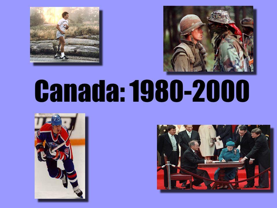 Canada: 1980-2000