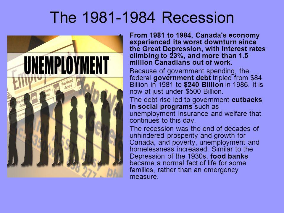 The 1981-1984 Recession