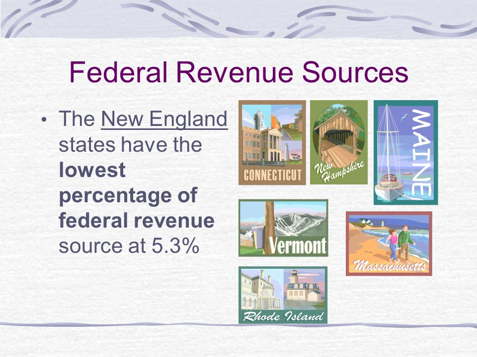 Federal Revenue Sources