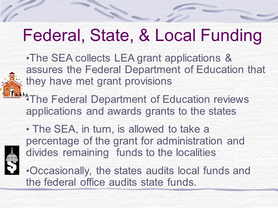Federal, State, & Local Funding