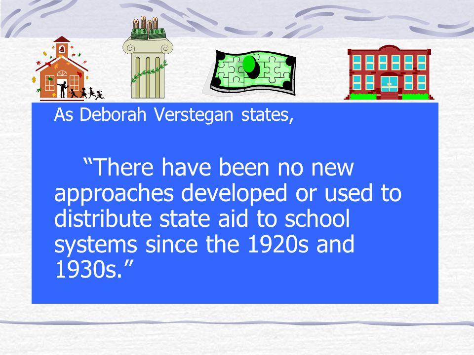 As Deborah Verstegan states,