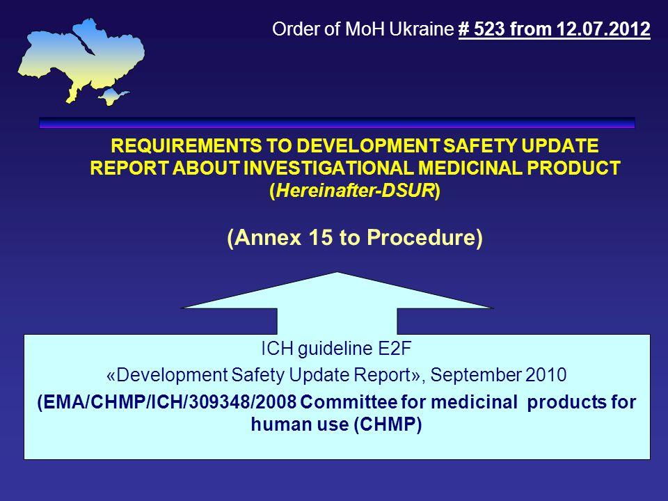 «Development Safety Update Report», September 2010