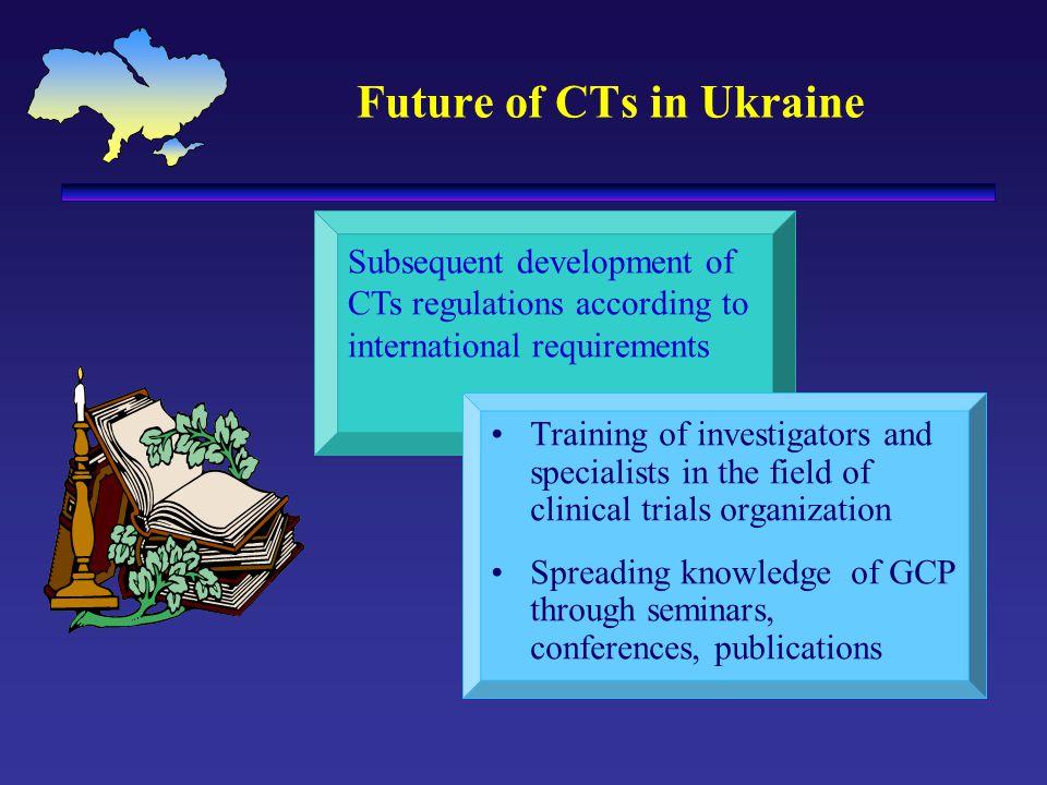 Future of CTs in Ukraine