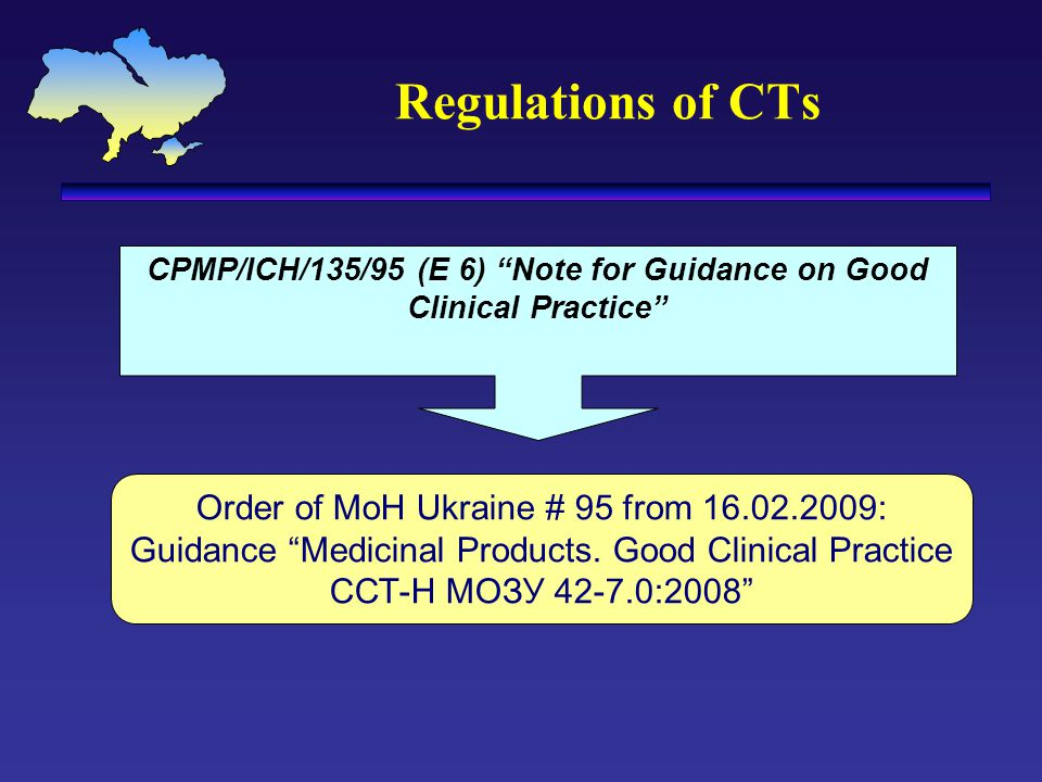 CPMP/ICH/135/95 (E 6) Note for Guidance on Good Clinical Practice
