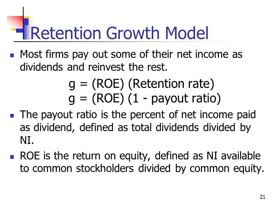 Retention Growth Model