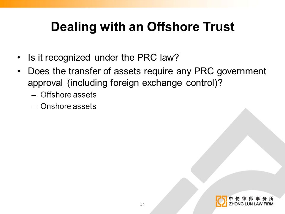 Dealing with an Offshore Trust