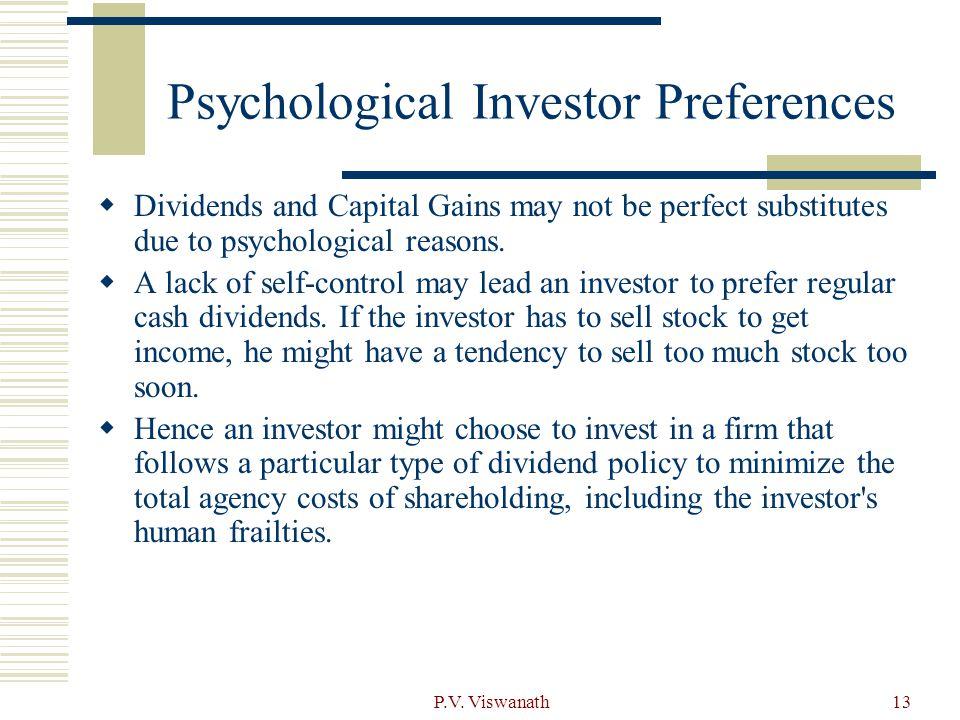 Psychological Investor Preferences