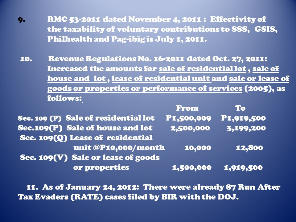 Sec.109(P) Sale of house and lot 2,500,000 3,199,200