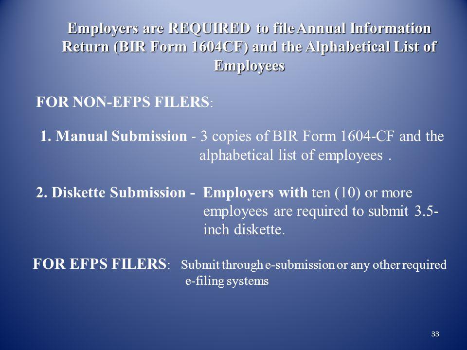 alphabetical list of employees .