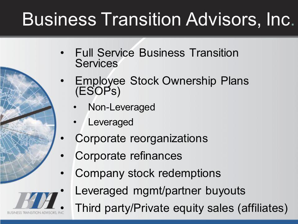 Business Transition Advisors, Inc.