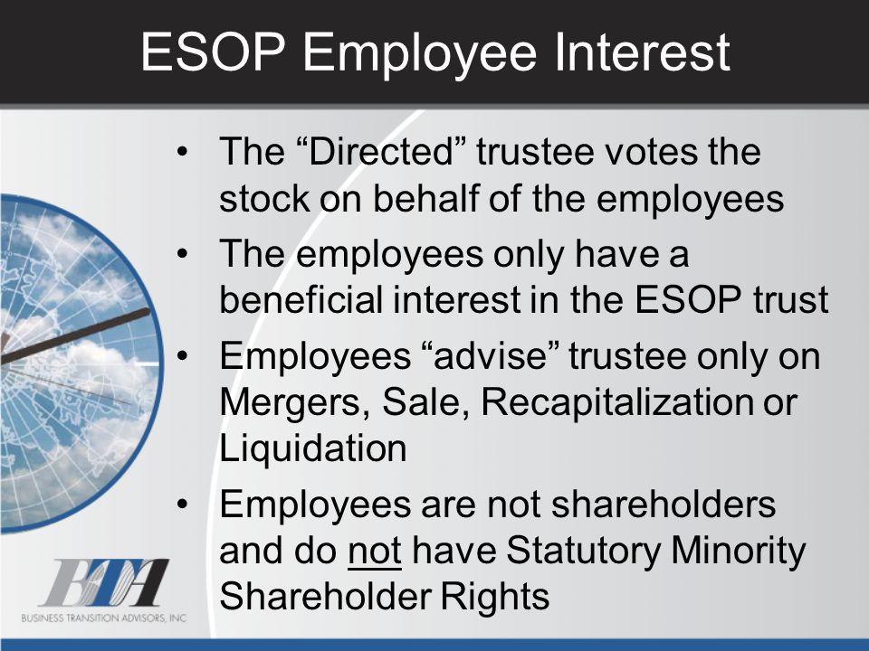 ESOP Employee Interest