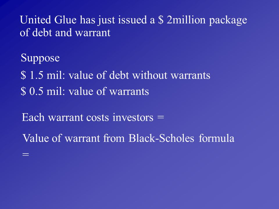 United Glue has just issued a $ 2million package