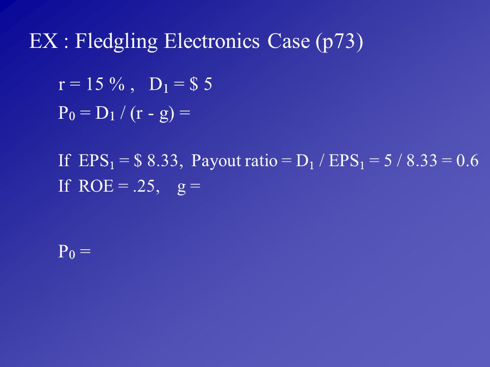 EX : Fledgling Electronics Case (p73)
