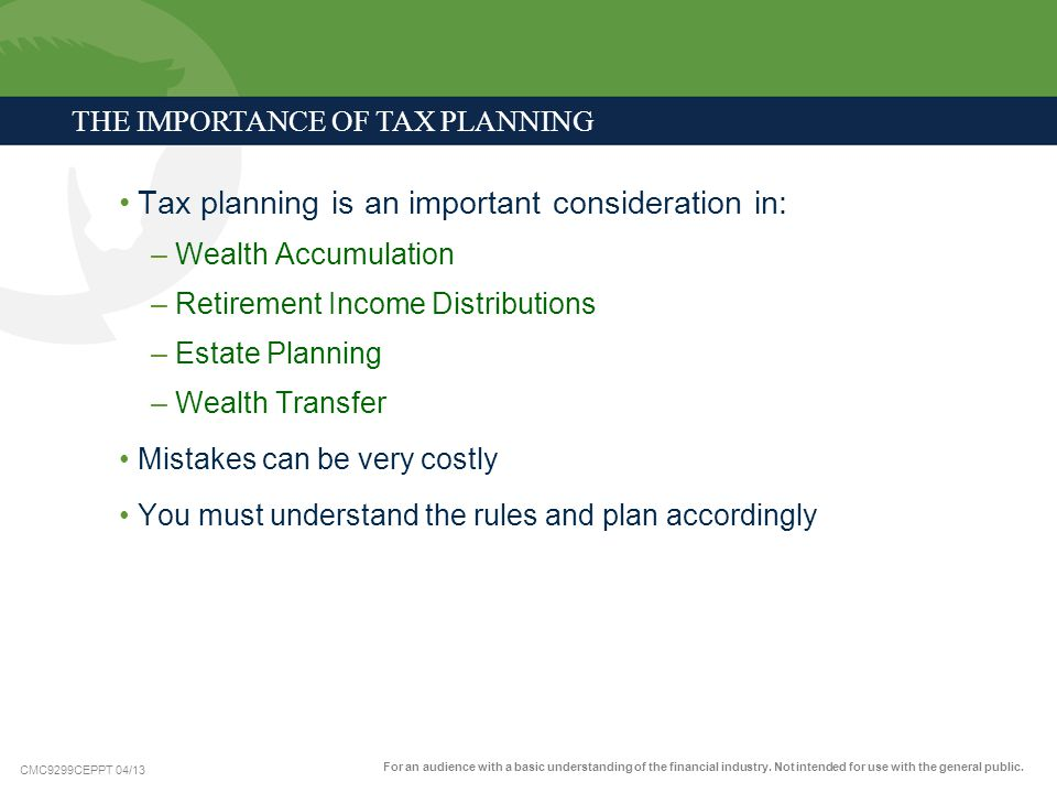 Tax planning is an important consideration in:
