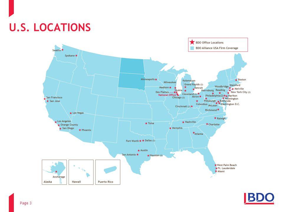U.S. LOCATIONS