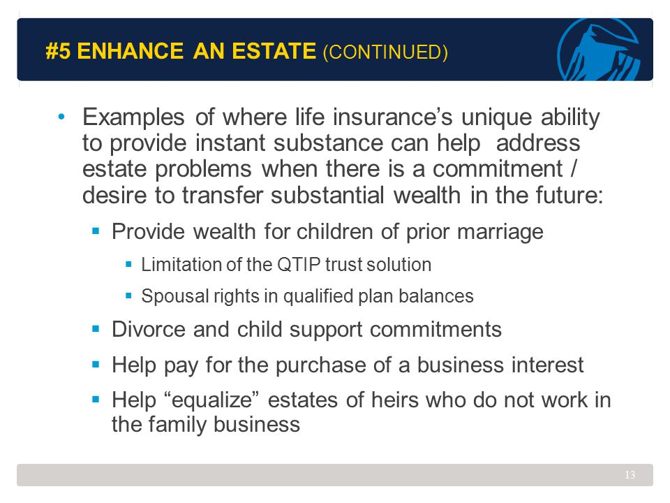 #5 Enhance an Estate (Continued)