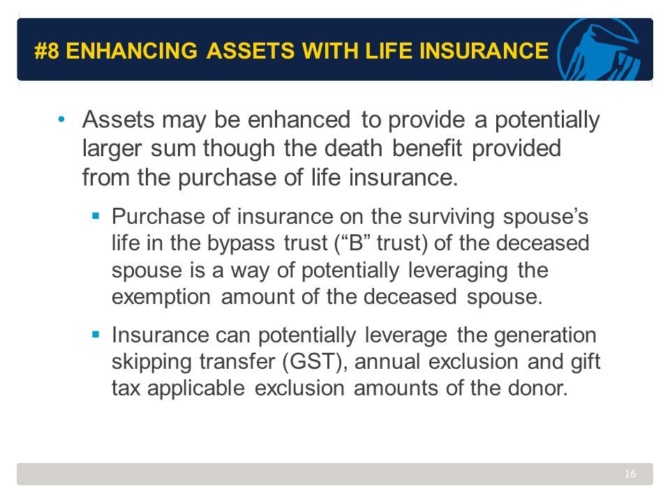 #8 Enhancing Assets with Life Insurance
