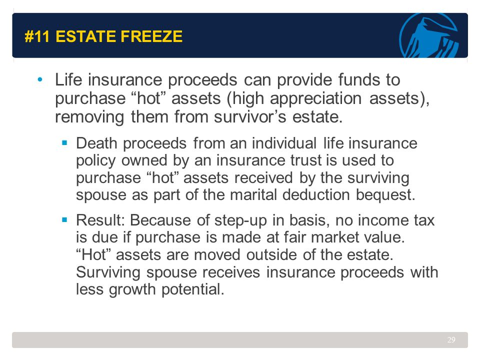 #11 Estate Freeze