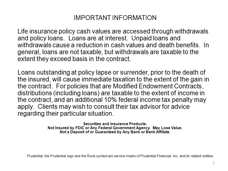 Not Insured by FDIC or Any Federal Government Agency. May Lose Value.