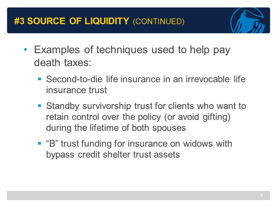 #3 Source of Liquidity (Continued)