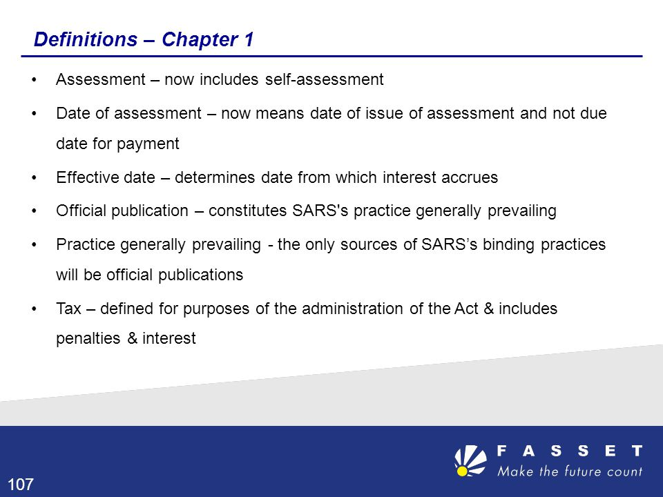 Definitions – Chapter 1 Assessment – now includes self-assessment