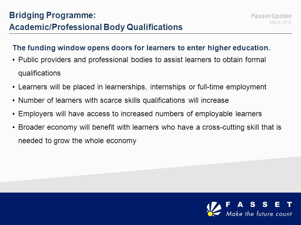 Academic/Professional Body Qualifications