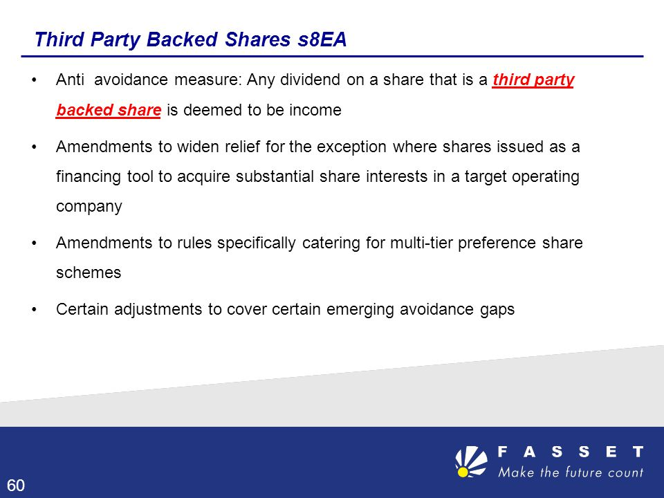 Third Party Backed Shares s8EA