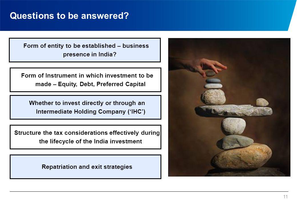 Key Challenges Maximising shareholder value