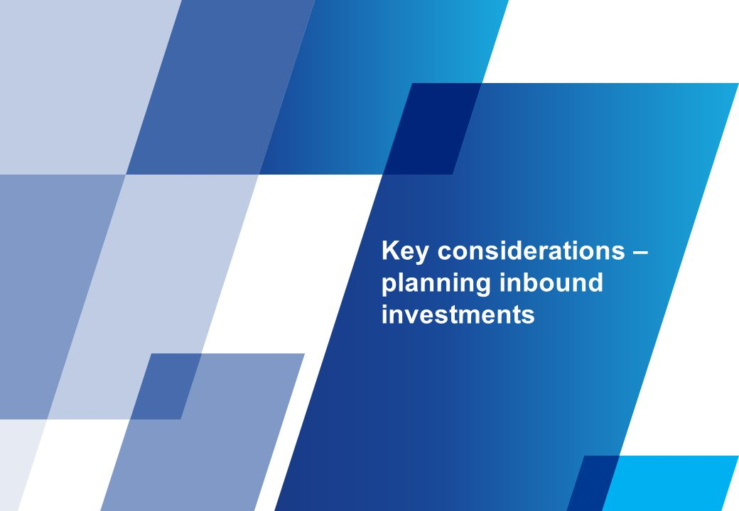 Key considerations Factors impacting decision making Economic