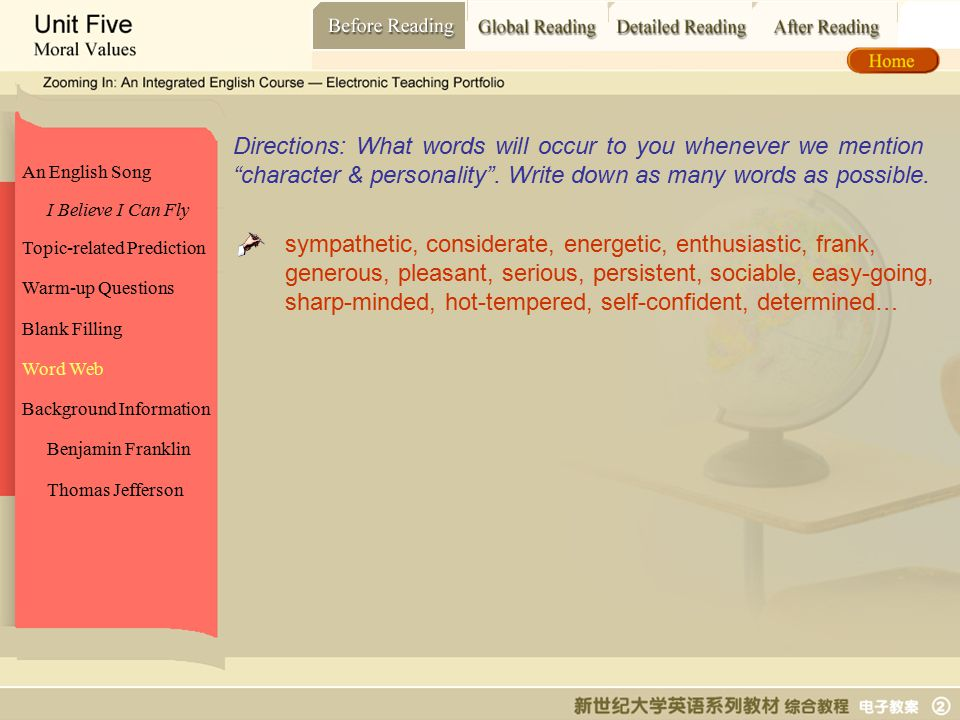 Before Reading_ word web
