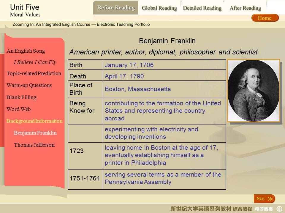 Before Reading_ Benjamin Franklin