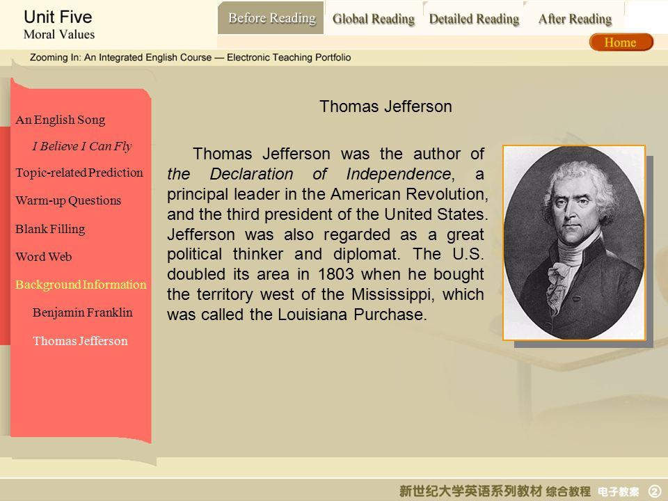 Before Reading_ Thomas Jefferson