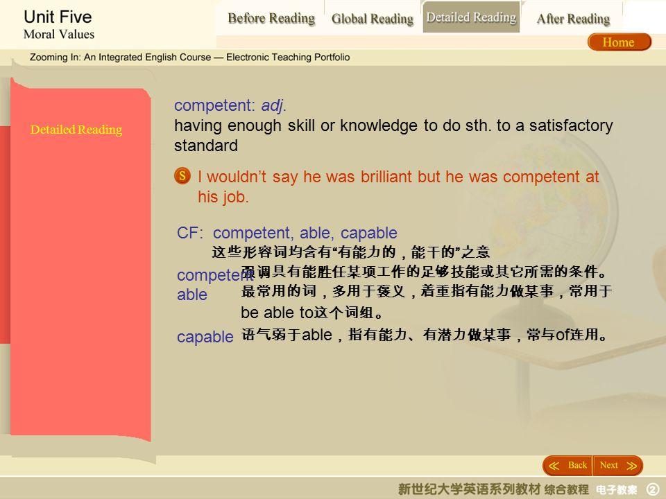 Detailed Reading_ competent