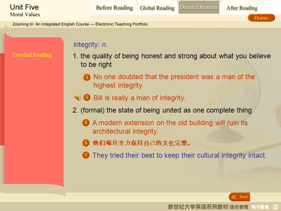 Detailed Reading_ intergrity