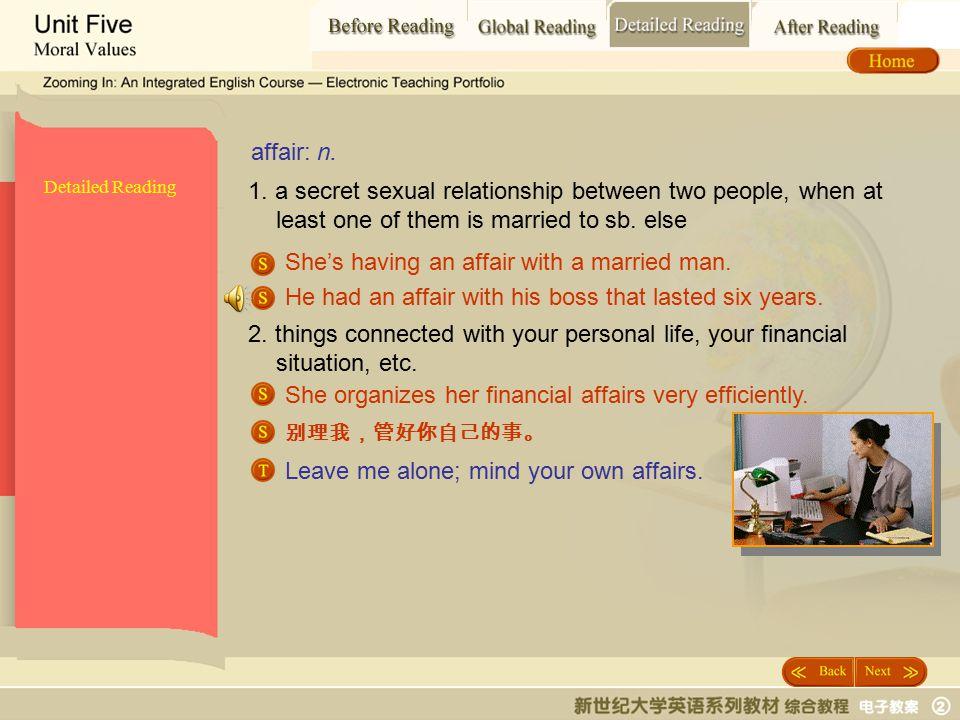 Detailed Reading_ affair