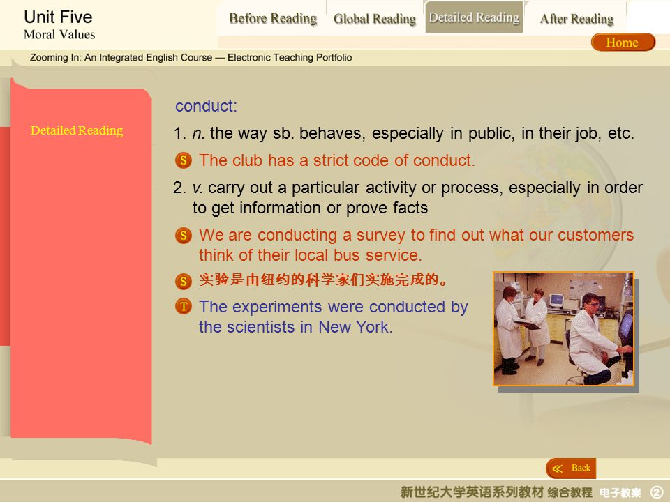 Detailed Reading_ conduct