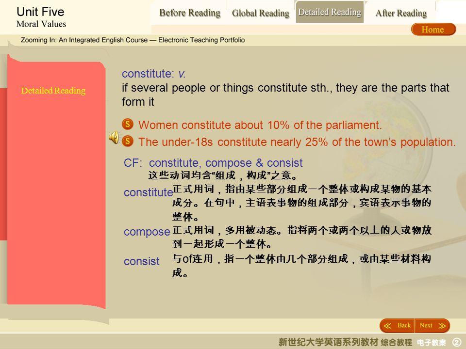 Detailed Reading_ constitute