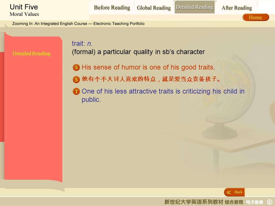Detailed Reading_ trait