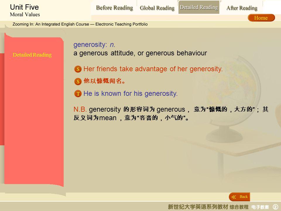 Detailed Reading_ generosity