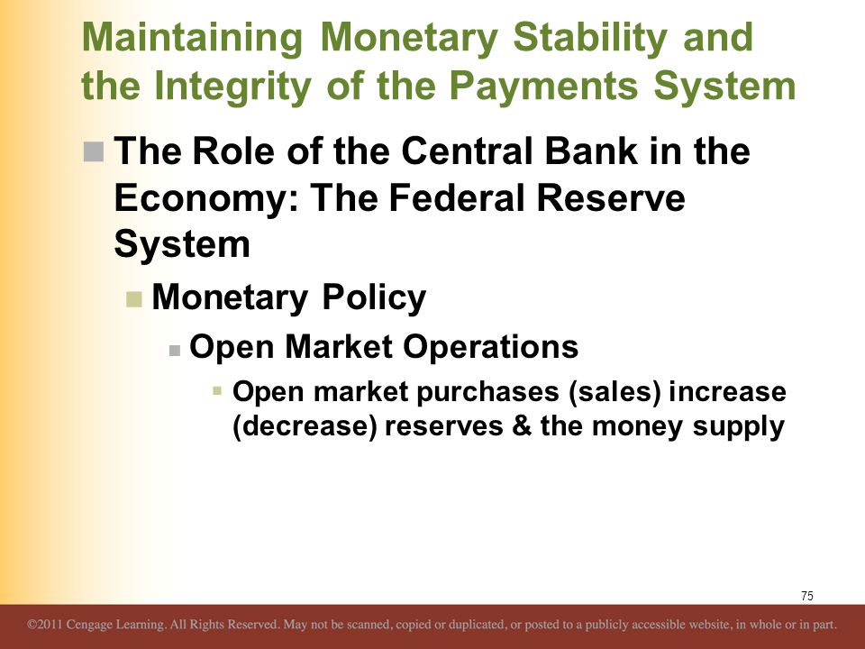 How does monetary policy influence inflation?