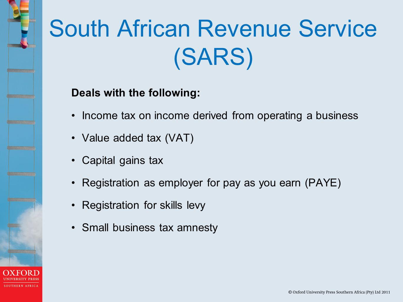 South African Revenue Service (SARS)