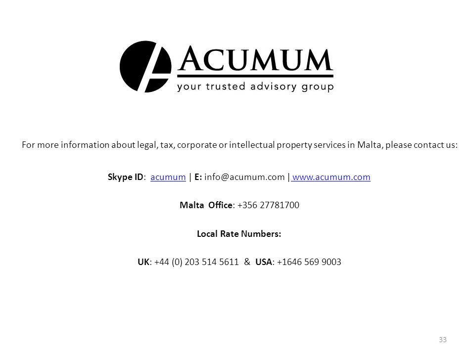 Skype ID: acumum   E: info@acumum.com   www.acumum.com