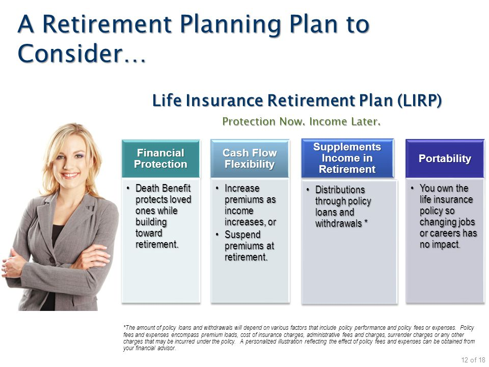 A Retirement Planning Plan to Consider…