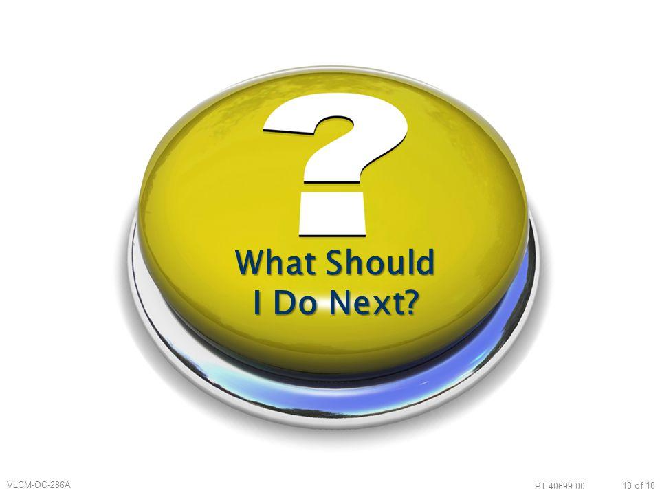 What Should I Do Next